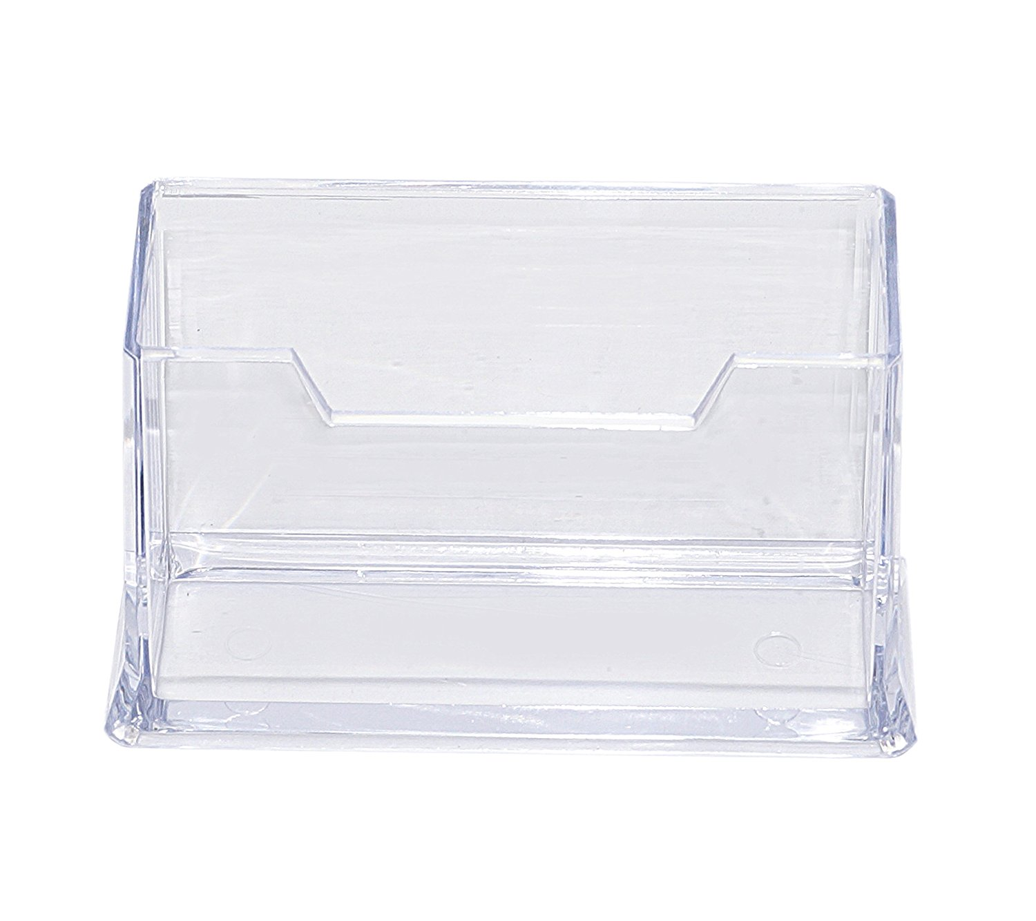 Premium Acrylic Clear Business Card Holder Display, Plastic ...