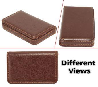 Dahsha stylish pocket sized stitched leather visiting card holder sl1500 81uagnkmqbl reheart Choice Image