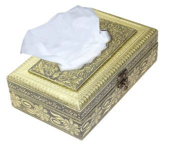 Rectangle Handmade attractive wooden Oxodised work tissue box / tissue holder / napkin holder / napkin box / antique tissue box for home,car and Office