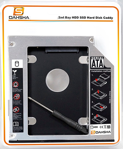 Sata 2nd Bay HDD Caddy