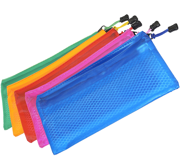 Mesh Zippered Pouch