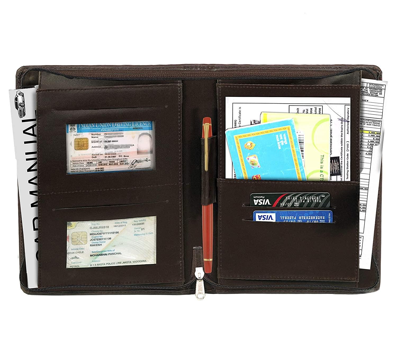DAHSHA Car Document Holder, Owner Manual Case Pouch ...